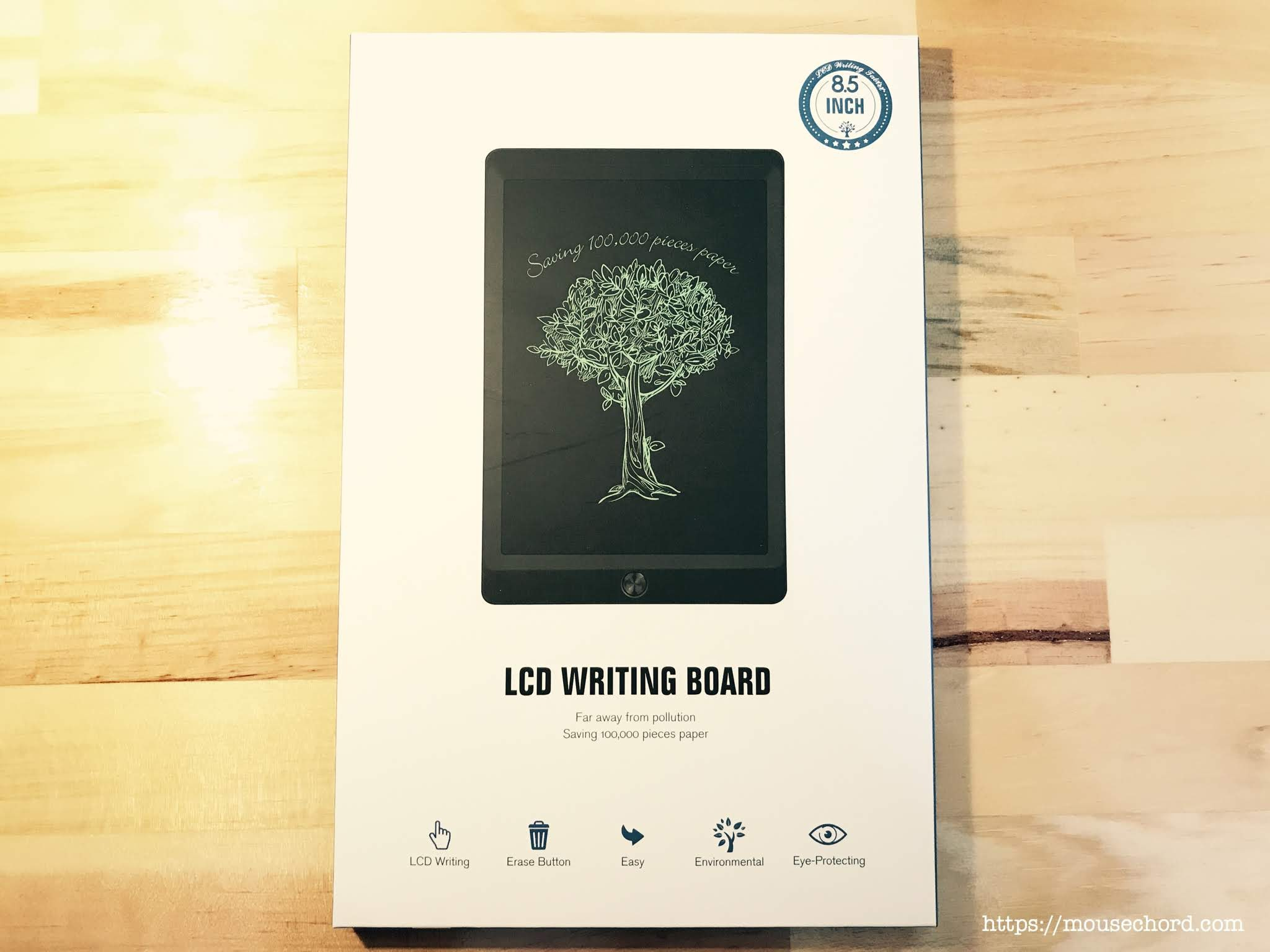 LCD WRITING BOARD 電子メモパッド購入Review