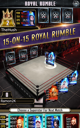 WWE SuperCard – Multiplayer Card Battle Game screenshot 14