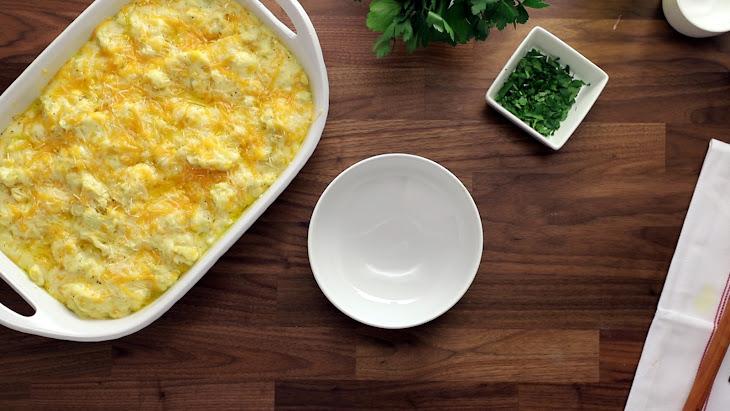 """Cauliflower """"Mac"""" and Cheese Recipe"""