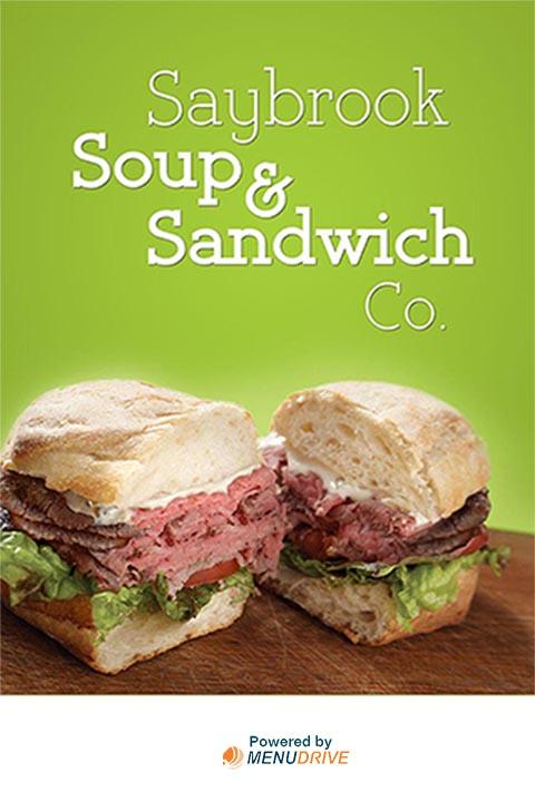 Saybrook Soup & Sandwich Co.- screenshot