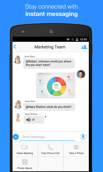 ZOOM Cloud Meetings- screenshot