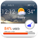 AppCleaner+Current Temperature icon