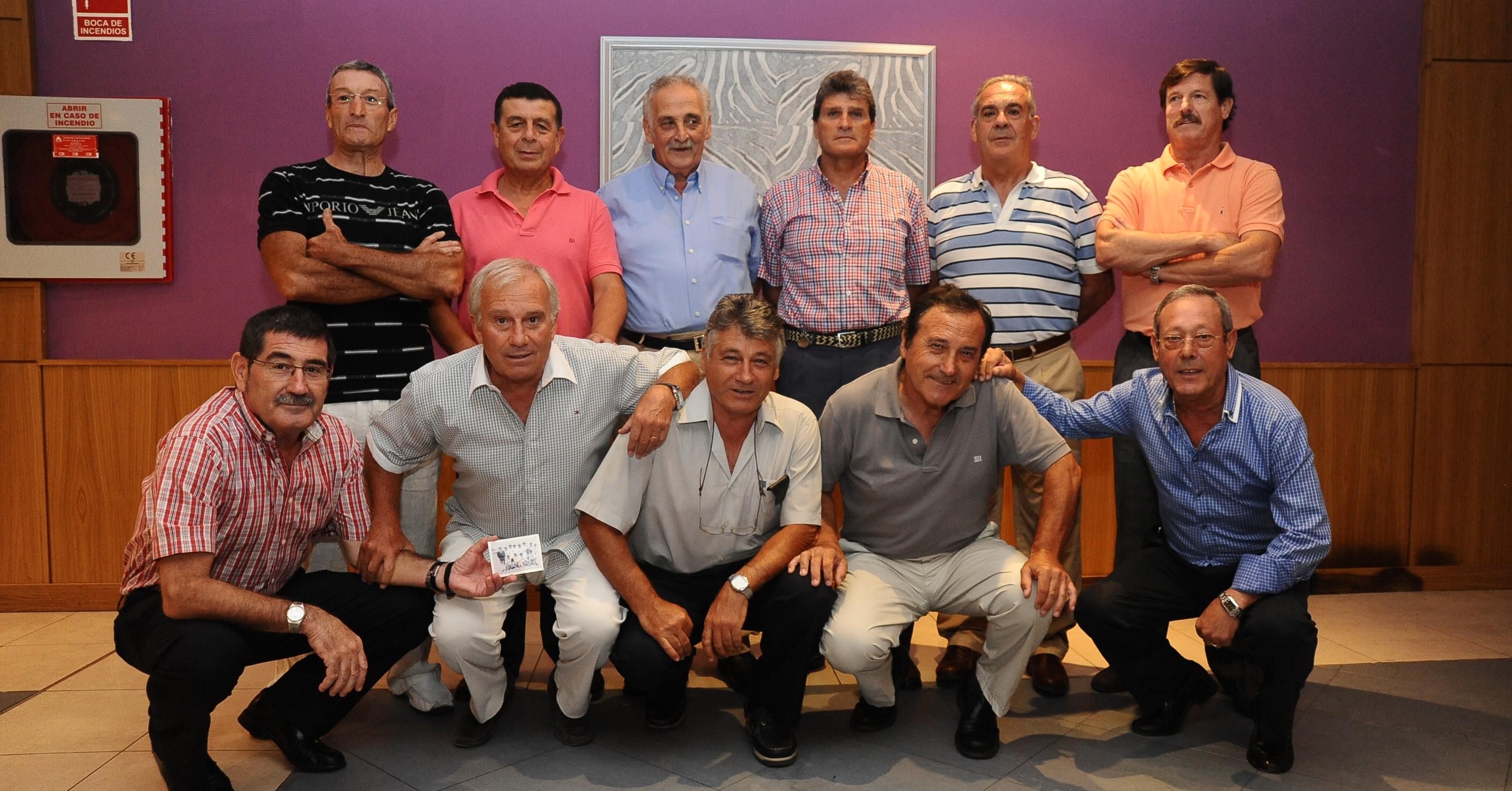 El Plus Ultra con José Miguel Polo entre Biosca y Maxi.
