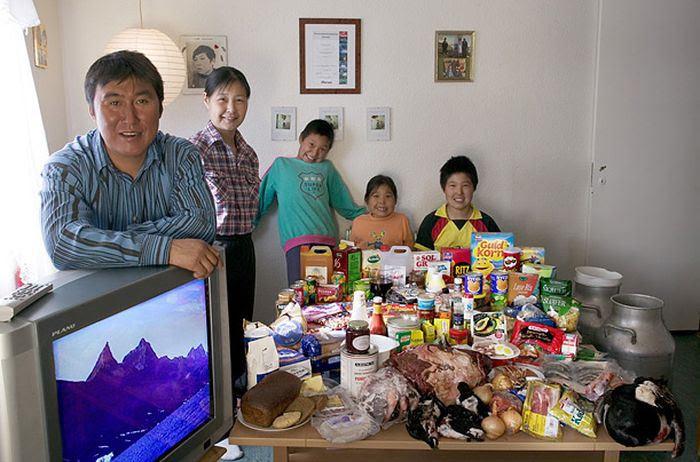 U0y3EuClmUbGOrDmnrfDaHsmgbLdB8FB2XqfmB Gj2E=w700 h462 no - Недельный запас еды для семьи в разных странах мира (фото)