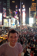 Photo: Brock in Times Square http://ow.ly/caYpY