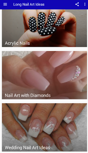 Best Nail Art Designs for Long Nails 2019 1.0 screenshots 2