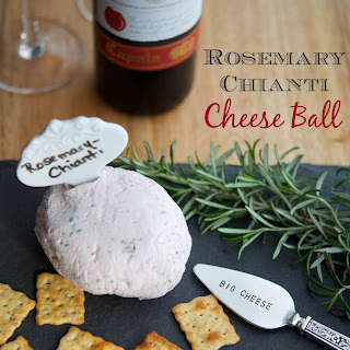 Rosemary Chianti Cheese Ball.