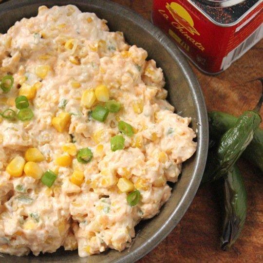 Smoky Corn and Jalapeno Dip Recipe