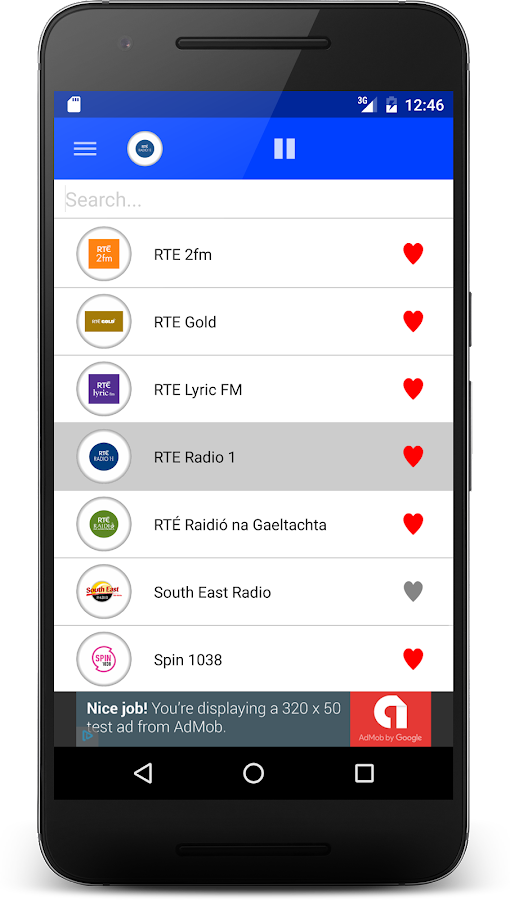 Radio Ireland FM- screenshot