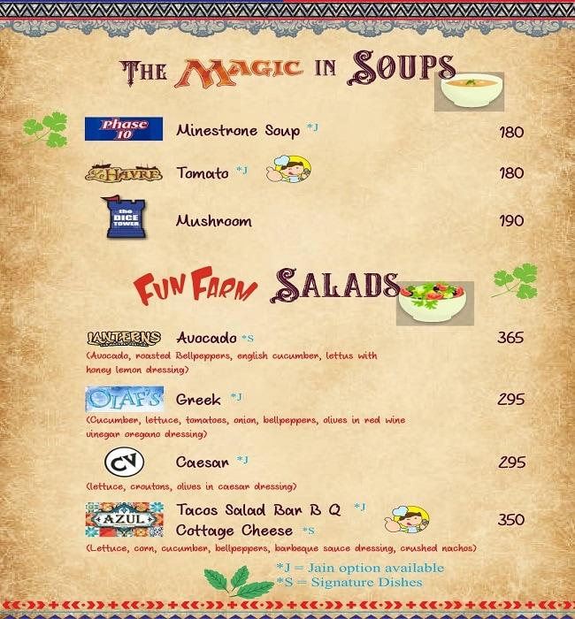 Pair A Dice Cafe menu 6