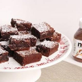 Nutella Brownies.