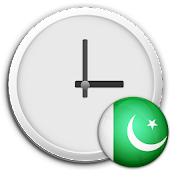 Pakistan Clock & RSS Widget