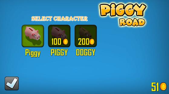 Piggy Animal Road Runner 3D - náhled