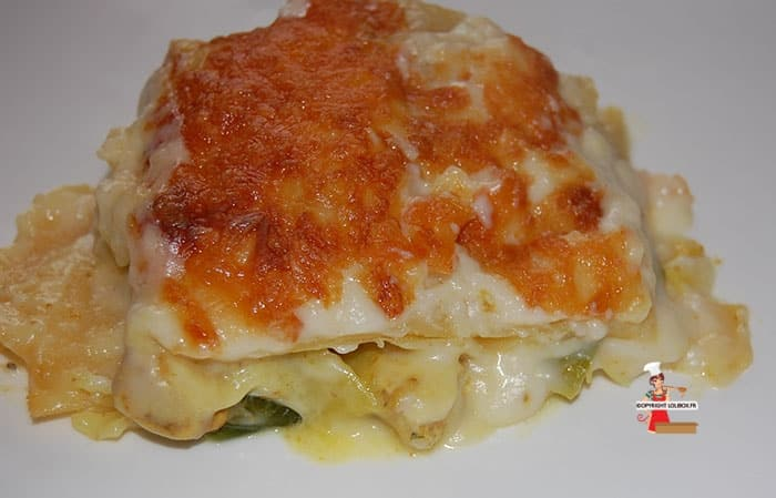Leen and Chicken Lasagna Recipe