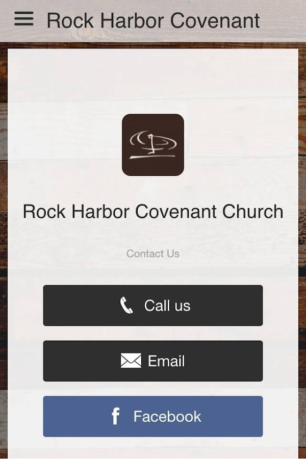 Rock Harbor Covenant Church- screenshot