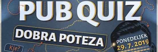 Pub Quiz - 29.7.2019