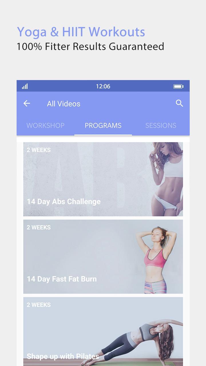 Daily Yoga - Yoga Fitness Plans Screenshot 3