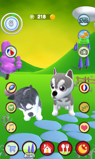 Talking Husky Dog apkdebit screenshots 8