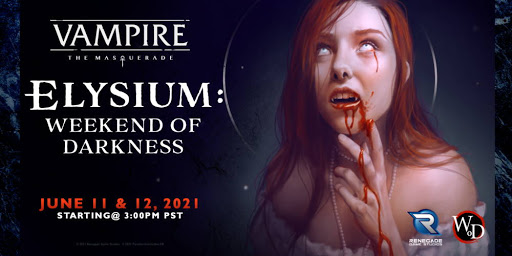 Four new Vampire: The Masquerade products announced at Elysium Con