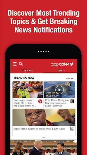 appdater - Breaking and Trending News 3.3.3 screenshots 4
