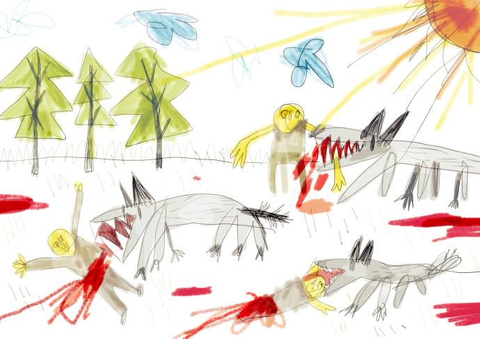 волки и почтенные крымчане2