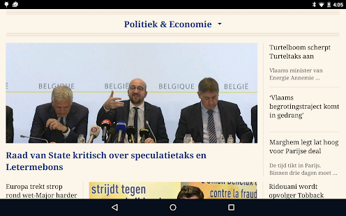 De Tijd- screenshot thumbnail