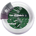 Rain of symbols Keyboard icon
