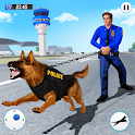 US Police Dog 2020: Airport Crime Shooting Game icon