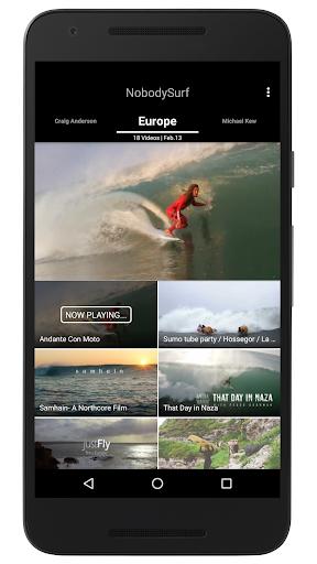 NobodySurf - 世界のサーフィン動画まとめアプリ