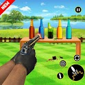 Extreme Bottle Shooting Game: New Free Games 2019 icon