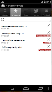 Companies House- screenshot thumbnail