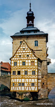 Photo: Bamberg. Oude raadhuis.