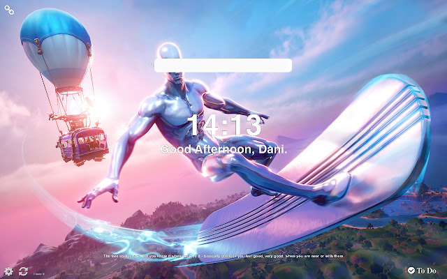 Silver Surfer Fortnite Wallpapers New Tab