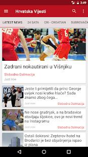 Hrvatska Vijesti - náhled