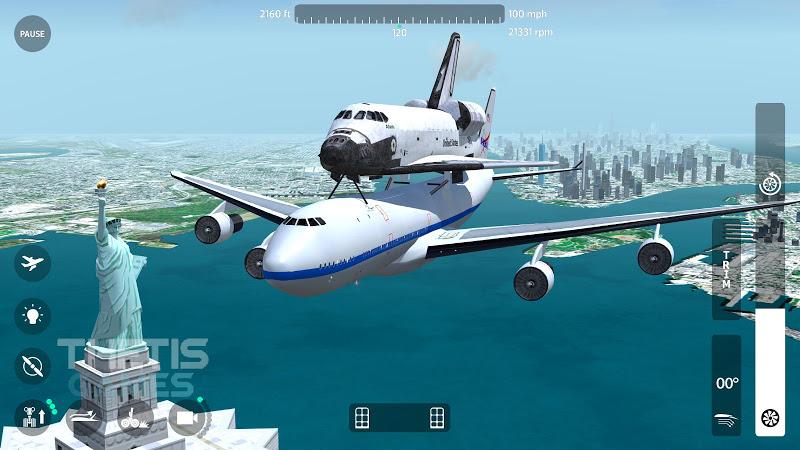 Flight Simulator 2018 FlyWings Free Screenshot 12