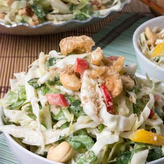 Asian Chopped Salad with Ginger Sesame Vinaigrette Recipe