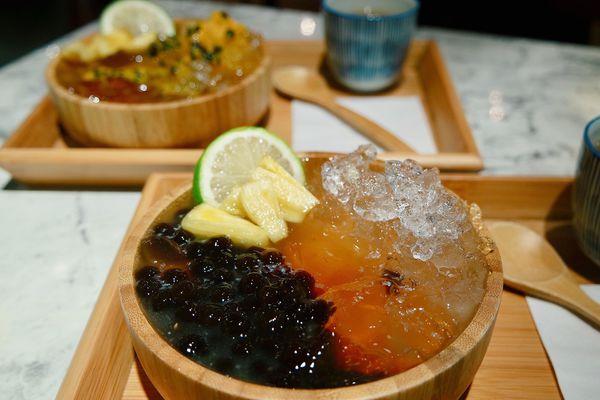 花Cafe -- 文青風格的一碗愛玉
