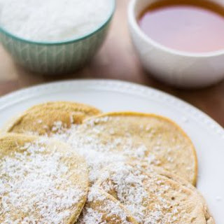 Low Carb Coconut Protein Pancakes