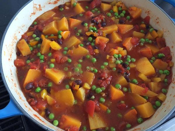 Fiery Squash Chili Recipe