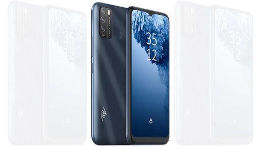 The Itel Vision1 Pro entry-level smartphone costs R1 699.