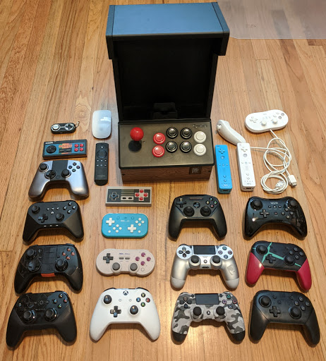 Supported gamepads