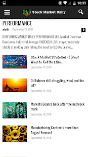 Stock Market Daily- screenshot thumbnail