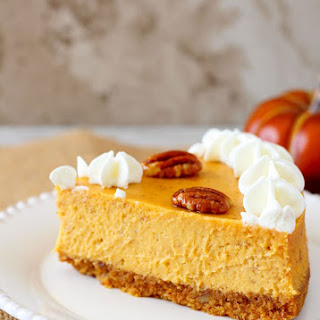 Pumpkin Pecan Cheesecake ~ Perfect Every Time!