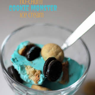 Cookie Monster Ice Cream.