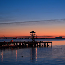 PA by Angie Arnold - Buildings & Architecture Other Exteriors ( sunrise, waterscape, port angeles, washington, morning,  )