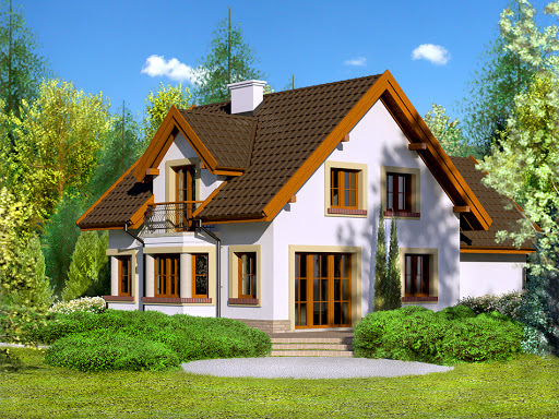 projekt Dom przy Przyjaznej 9