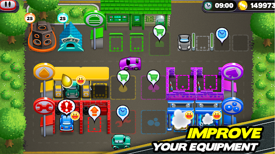 Tiny Auto Shop Car Wash and Garage Game 1.3.7 MOD (Unlimited Money) 2