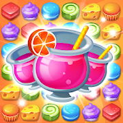 Candy Match 3 Puzzle: Sweet Monster