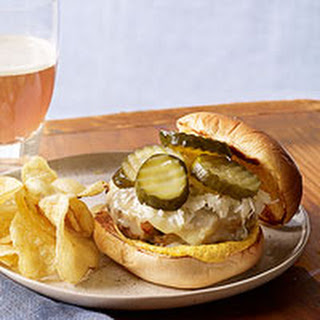German-Style Turkey Burgers.
