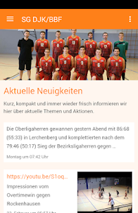 SG DJK/BBF Basketball – Miniaturansicht des Screenshots
